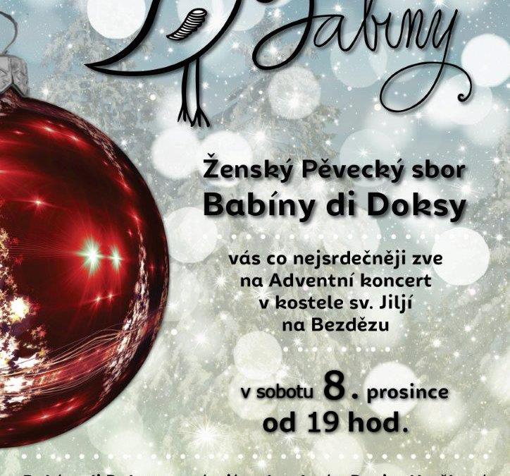 Babíny di Doksy vás zvou na Adventní koncert!