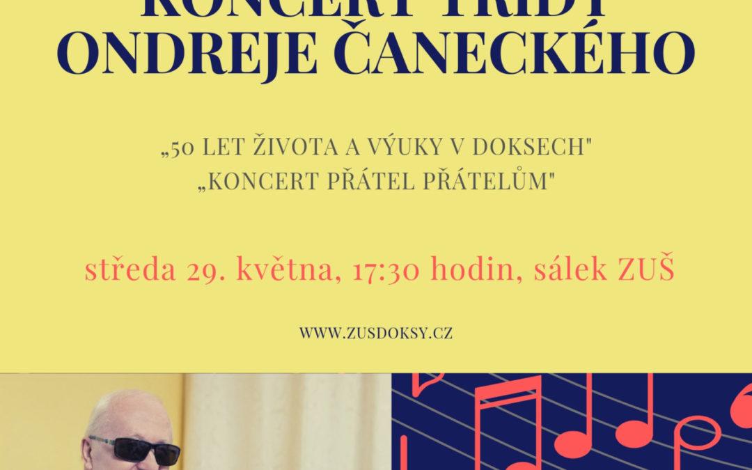 Koncert třídy p. uč. O. Čaneckého