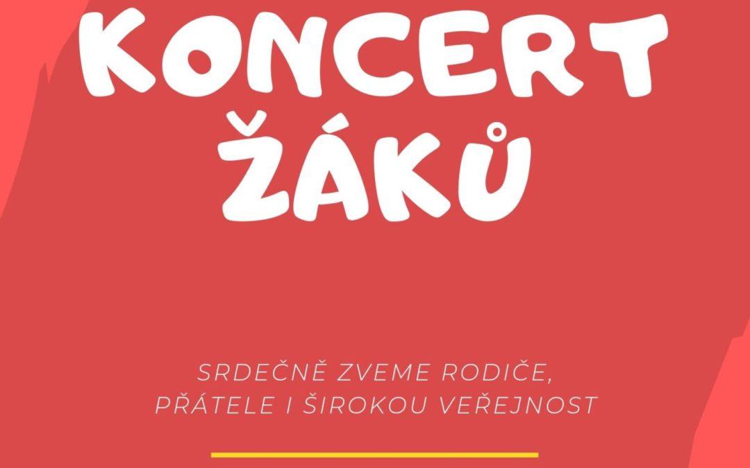 Koncert žáků