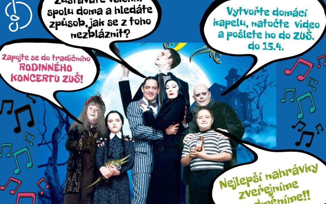 """Přípravy na """"Rodinný koncert"""" startují!!!"""